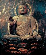 慈尊院・弥勒菩薩坐像