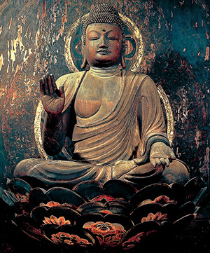 慈尊院・弥勒菩薩座像